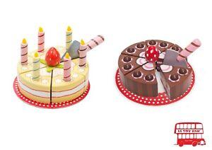 Kinder Kuchen, Neu, Geschenkidee, Le Toy Van, Geburtstag, Schokoladenkuchen