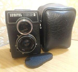 Lubitel - 166V Lomo Vintage USSR SLR Camera Medium Format 6x6 & case #83522462