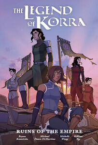 Legend of Korra Ruins of the Empire Library Edition Hardcover Graphic Novel