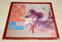 On Stage by Bob Wills and his Texas Playboys (Vinyl LP, Sealed) Western Swing