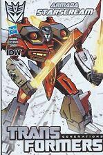 IDW Comics 2014 Transformers Generations DARK CYBERTRON #1 Starscream Variant