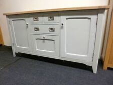 French Country Solid Wood Grey Sideboards & Buffets