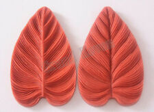 Brazil Heart Shape Leaf Silicone Molds Silicone Bakeware Mold Formas de Silicon