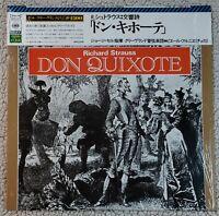 R. Strauss: Don Quixote/Szell & Pierre Fournier CBS Sony 13AC 217 Japan NM