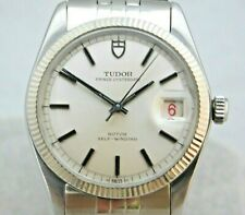 Rolex Tudor Prince Oysterdate Vintage 1960's SS Automatic Mens Watch....34mm