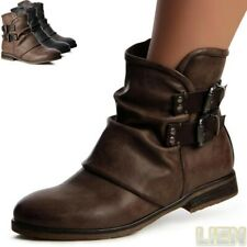 Women's Shoes Ankle Boots Biker Boots Worker Boots