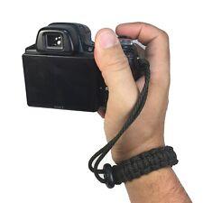 Comanche Handmade Adjustable Cobra Paracord DSLR Camera Safety Wrist Strap