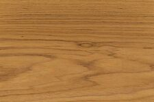 "Teak Wood Veneer 3M Peel and Stick Adhesive PSA 2' X 8' (24"" x 96"") Sheet"