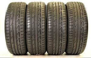 4x 225 45 R18 95Y XL Bridgestone Potenza S001 Mo Sommerreifen Dot5215 7,3mm TOP