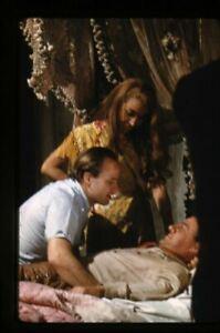 One Eyed Jacks Marlon Brando leans over Karl Malden on bed 35mm Transparency