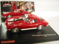 CARRERA 1/32ND SCALE DELETED SLOT CAR 25429 CORVETTE STING RAY 427 1967   BNIB