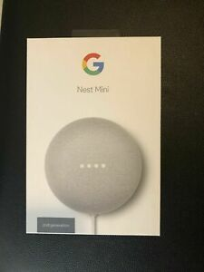 Google Nest Mini (2nd Generation) Smart Speaker with Google Assistant - Charcoal