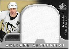 05/06 SP Game Used Awesome Authentics #JL John LeClair Jumbo Jersey #035/100