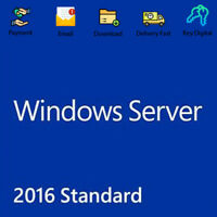 Windows Server 2016 STANDARD Download Link & Product Key Genuine