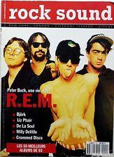 ROCK SOUND 1993: R.E.M_BJÖRK_RICKIE LEE JONES_CHAPEAU MELON ET BOTTES DE CUIR