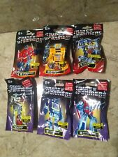 Transformers - Complete Set of Six Blind Bags *New* Optimus Prime Megatron