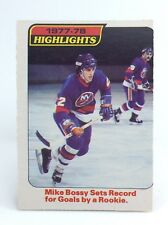 1978-79 Mike Bossy #1 New York Islander OPC O Pee Chee Ice Hockey Card H377