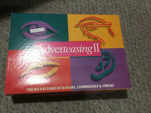 Adverteasing II Game (1991, Cadaco No 802) Complete with Box