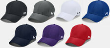 Under Armour Men's UA Blitzing Blank Stretch Fit Cap Curved Flex Hat 1325823