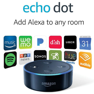 Amazon Echo Dot 2nd Generation Smart Assistant With Alexa - Black