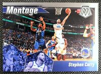 STEPHEN CURRY - 2020 Panini Mosaic Montage Golden State Warriors #14