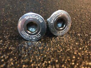 Shimano Dura-Ace FC-7400/7410 Titanium Crank Bolts - Extremely Rare