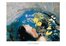 Odilon Redon Ophelie poster immagine stampa d'arte 70x100cm