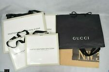 Job Lot 6x Designer Paper Carrier Bags Gucci Hobbs Matches Fashion Used