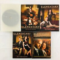 Elementary: Complete Seasons 1-5 (1 2 3 4 5) on DVD - TV Series with Lucy Liu
