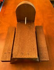 New listing Squirrel Feeder Picnic Table - Stained Solid Wood - Handmade