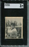 1948 Bowman Baseball #6 Yogi Berra Rookie Card RC Graded SGC 3 Yankees