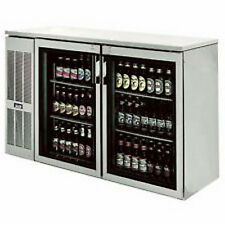 Krowne Metal Ns52L 2 Section Narrow Door Refrigerated Back Bar Storage Cabinet