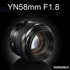 Yongnuo YN85 85MM F/1.8 AF MF Auto Focus Standard Fixed Prime Lens For Canon EOS