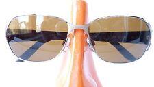 Sonnenbrille Markengestell Rodenstock getönte Gläser braun Damen sunglasses Gr M