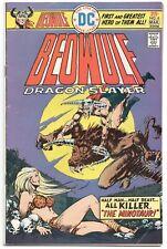 Beowulf Dragon Slayer 6 DC 1975 FN VF Ricardo Villamonte Minotaur Skull