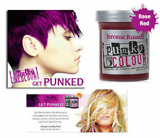 Jerome Russell Punky Colour Semi-Permanent Hair Color Rose Red 1422