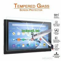 "Premium Tempered Glass Screen Protector for Amazon Kindle Fire hd 10 10.1"" 2015"