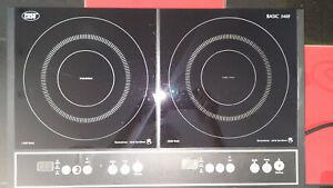 Doppel Induktionsplatte Induktionskochfeld Caso Basic 3400 W