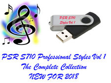 Yamaha PSR S710 Pro Styles and Midis USB Pendrive new for 2018