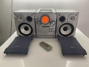 Sony CHC-CL5MD Minidisc Hifi 3 CD Changer/Tape/Radio Read for more details MDLP