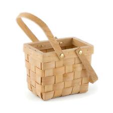 Picnic Basket Party Favour Medium Woven Vintage Design