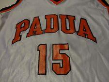 Vintage Padua Catholic High School Girl's Basketball Jersey Game Worn sz Medium