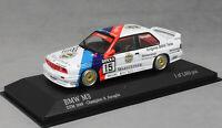 Minichamps BMW M3 E30 DTM Champion 1989 Roberto Ravaglia 433892015 1/43 NEW