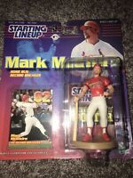 1999 Starting Lineup MLB - Mark McGwire - Home Run Record Breaker - New In Box