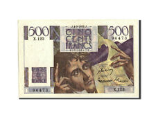 Billets, France, 500 Francs, 500 F 1945-1953 ''Chateaubriand'', 1952 #210587