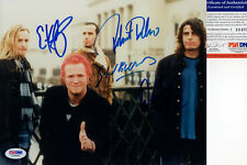 STONE TEMPLE PILOTS SIGNED 8X10 PHOTO PSA/DNA SCOTT WEILAND W/PROOF!!!!!! STP