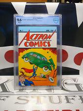 ACTION COMICS #1 (2017) CBCS 9.6 1st Superman Loot Crate Variant DC Comics