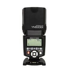 Yongnuo YN-500EX Flash Speedlite Hot Shoe Slave TTL w/ HSS 1/8000 for Canon DSLR