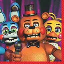 FIVE NIGHTS AT FREDDY'S LUNCH NAPKINS (16) ~ Birthday Party Supplies Video Game