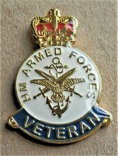 BRITISH ARMY MILITARY A. FORCES ENAMEL PIN BADGE UK VETERAN POPPY DAY